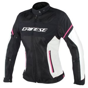 Blouson AIR FRAME D1 LADY TEX  Black/Gray/Fuxia