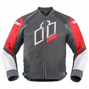 Blouson HYPERSPORT PRIME COLOR  Rouge