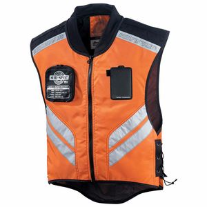 Gilet de protection MIL SPEC  orange fluo