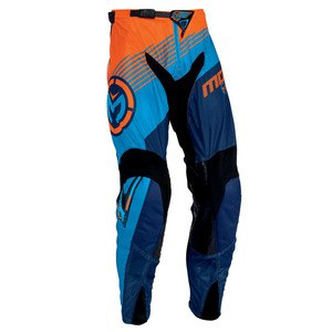 Pantalon Cross Moose Racing Sahara Racewear Orange Cyan