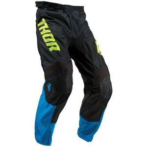 Pantalon cross PULSE AIR ACID ELECTRIC BLUE BLACK ENFANT  Bleu/Noir
