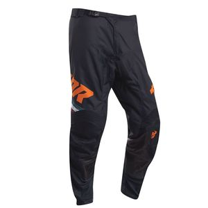 Pantalon cross PULSE - PINNER - MIDNIGHT ORANGE 2020 Black Orange
