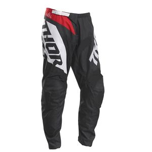 Pantalon cross YOUTH SECTOR - BLADE - CHARCOAL RED  Black Red