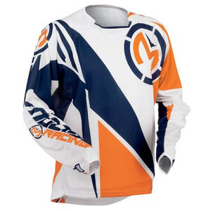 Maillot Cross Moose Racing M1 Series Racewear Orange Navy