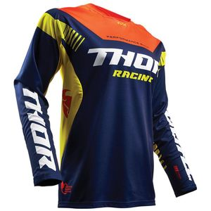 Maillot Cross Thor Fuse Propel - Bleu Orange - 2018
