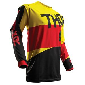 Maillot Cross Thor Pulse Taper - Jaune Rouge - 2018