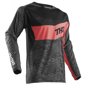 Maillot Cross Thor Fuse High Tide Black Coral 2018