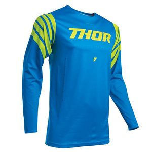 Maillot cross Thor PRIME PRO - STRUT - ELECTRIC BLUE ACID 2020