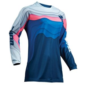 Maillot cross PULSE DEPTHS OCEAN PINK FEMME 2019 Bleu/Rose