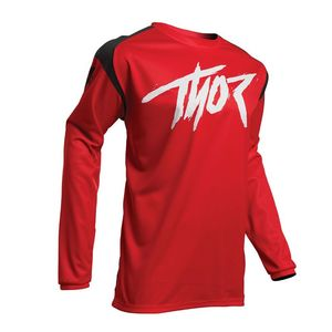 Maillot cross YOUTH SECTOR - LINK - RED  Red