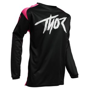 Maillot cross YOUTH SECTOR - LINK - PINK  Pink