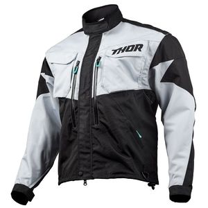 Veste Enduro Thor Terrain Light Gray Black 2019