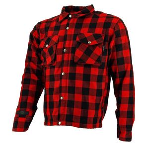 Blouson LUMBER SHIRT  Red Black