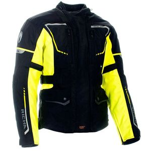 Veste PHANTOM 2 - BIG SIZE  Black/Fluo Yellow