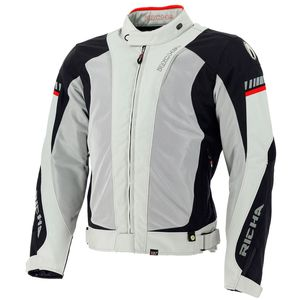 Blouson STORMWIND  Grey Black Red