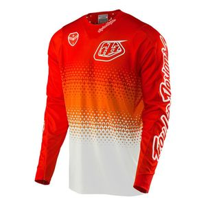 Maillot Cross Troylee Design Se Air Starburst White/red 2017