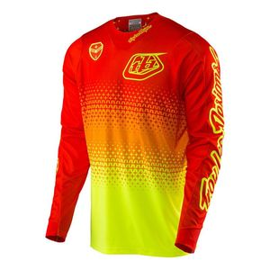 Maillot Cross Troylee Design Se Air Starburst Flo Yellow/orange 2017