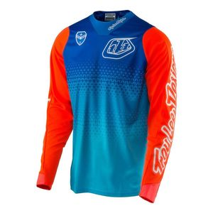 Maillot Cross Troylee Design Se Starburst Cyan/blue 2017