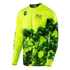 Maillot Cross Troylee Design Se Gravity Flo Yellow 2017