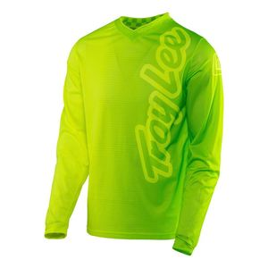 Maillot cross GP AIR 50/50 FLO YELLOW/GREEN  2017 Jaune fluo/vert