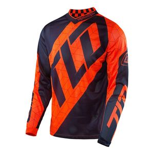 Maillot cross GP AIR QUEST FLO ORANGE/NAVY  2017 Orange fluo/Bleu