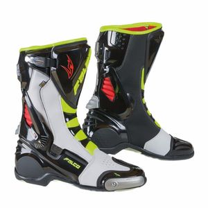 Bottes Falco Eso Lx 2.1 Black White Red Yellow Fluo