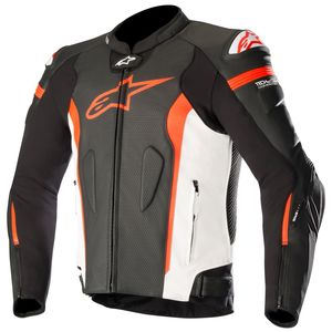 Blouson Alpinestars MISSILE compatible TECH-AIR Black/White/Red