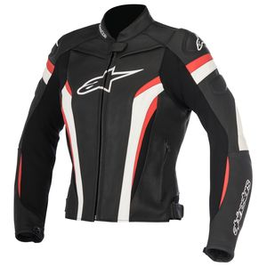 Blouson STELLA GP PLUS R V2  Black/Red/White