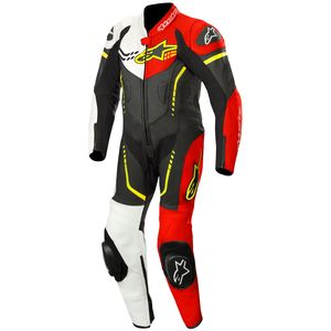 Combinaison YOUTH GP PLUS 1 PIECE  Black/White/Red/Yellow