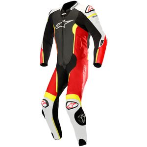 Combinaison MISSILE 1 PIECE compatible TECH-AIR  Black/White/Red/Yellow