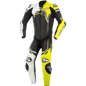 Combinaison GP PLUS V2  Black/White/Yellow