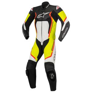 Combinaison MOTEGI V2 - 1 PIECE  Black/White/Red/Yellow