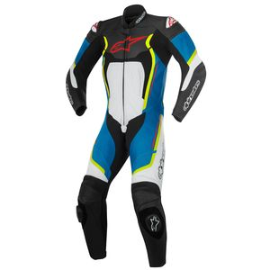 Combinaison MOTEGI V2 - 1 PIECE  Black/White/Blue/Yellow