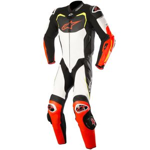 Combinaison GP PRO 1 PIECE compatible TECH AIR  Black/White/Red/Yellow