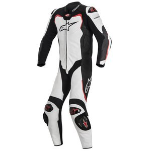 Combinaison GP PRO 1 PIECE compatible TECH AIR  White/Black/Red