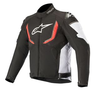Blouson T-GP R V2 WATERPROOF  Black White Red