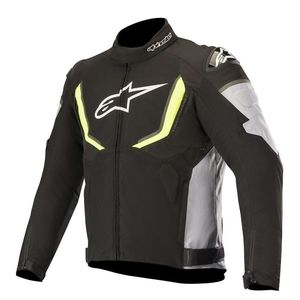 Blouson T-GP R V2 WATERPROOF  Black Gray Yellow Fluo