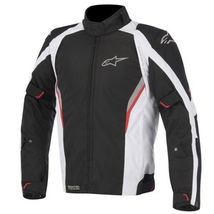 Blouson Alpinestars Megaton Drystar - Black White Red