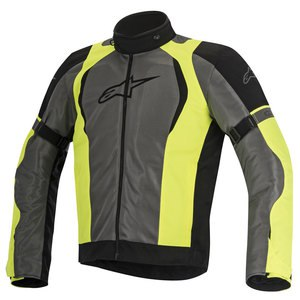Blouson Alpinestars Amok Air Drystar - Black Gray Yellow