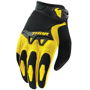 Gants Cross Thor Youth Spectrum - Jaune - 2018