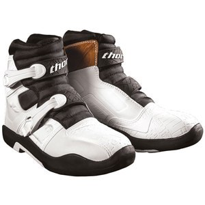 Bottes cross BLITZ LS - BLACK 2021 Blanc