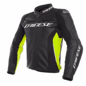Blouson RACING 3 FLUO  Black/yellow