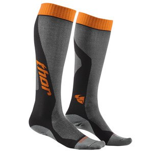 Chaussettes YOUTH MX COOL - GRIS ORANGE - 2018  Gris/orange