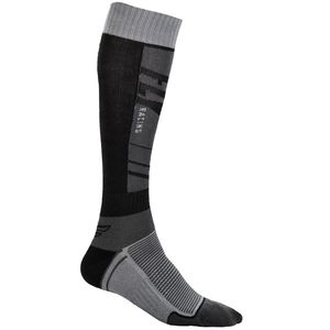 Chaussettes THIN DARK GREY BLACK  Grey/Black