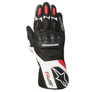 Gants SP-8 V2  Black/White/Red