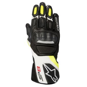 Gants SP-8 V2  Black/White/Yellow