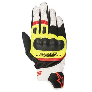 Gants SP-5  Black/White/Red/Yellow