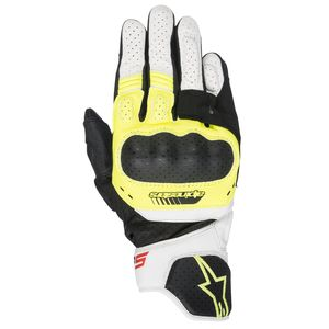 Gants SP-5  Black/White/Yellow