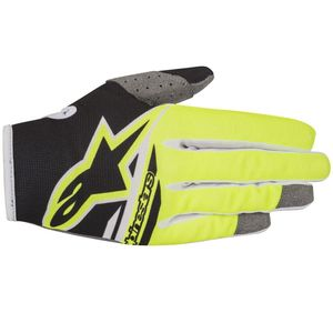 Gants cross RADAR FLIGHT BLACK YELLOW FLUO  2018 Black/Yellow