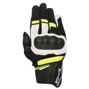 Gants BOOSTER  Black/White/Yellow